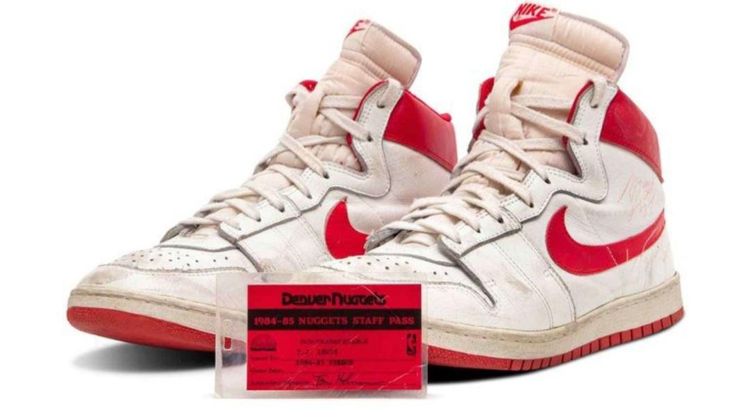 Subastaron unas zapatillas de Michael Jordan por casi USD 1,5 millones