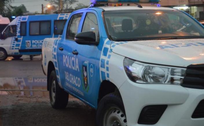Barranqueras: derrapó su vehículo, no hubo heridos de gravedad