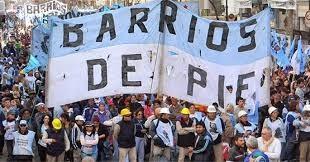 El Movimiento Barrios de Pie se moviliza mañana en todo el país