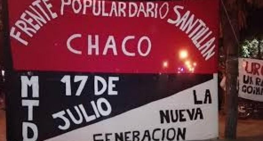 """Policías lesionados durante manifestación del MTD """"17 de Julio –Nueva Generación"""""""