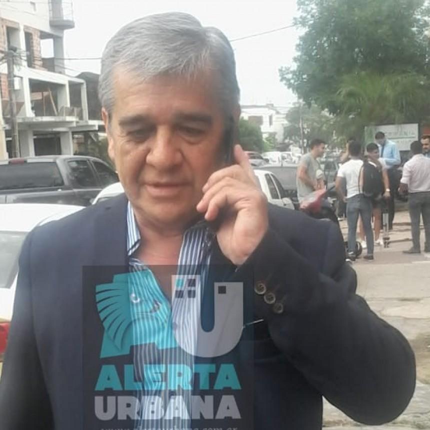 El Intendente de Castelli Alberto Nievas se presentó esta mañana en el Juzgado Federal º