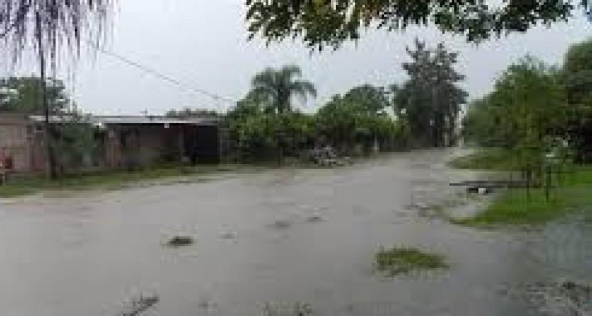 Charata: a pesar de haber recibido más de 170 milímetros de lluvia en pocas horas, los canales de desagüe funcionaron perfectamente