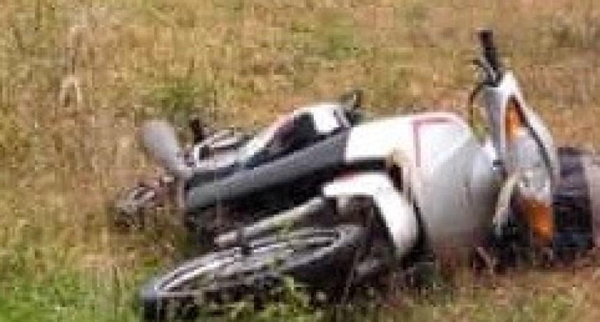San Bernardo: un rayo terminó con la vida de un hombre que circulaba en moto por Ruta Provincial Nº 6