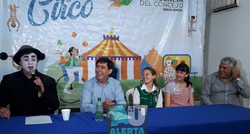 """Vuelve """"Chaque el Circo"""" a los barrios de Resistencia"""