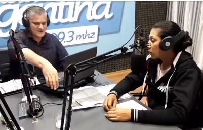 """Romina Palacio: """"El movimiento no pidió, ni firmó ningún pedido de desalojo"""""""