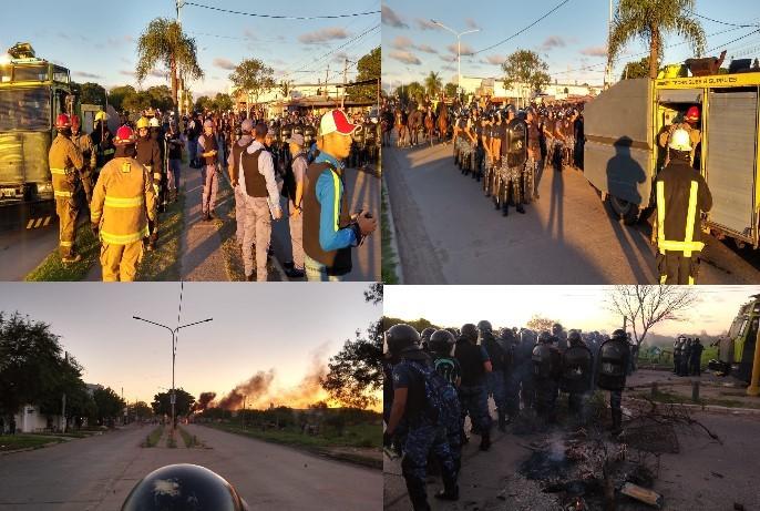 Nueva toma y desalojo con incidentes en el ex predio del Ejército Argentino. Alerta Urbana con cobertura en vivo durante todo el operativo.