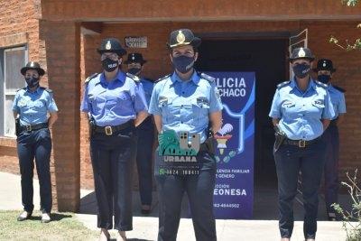 La Leonesa: inauguraron la sección violencia familiar y de género.