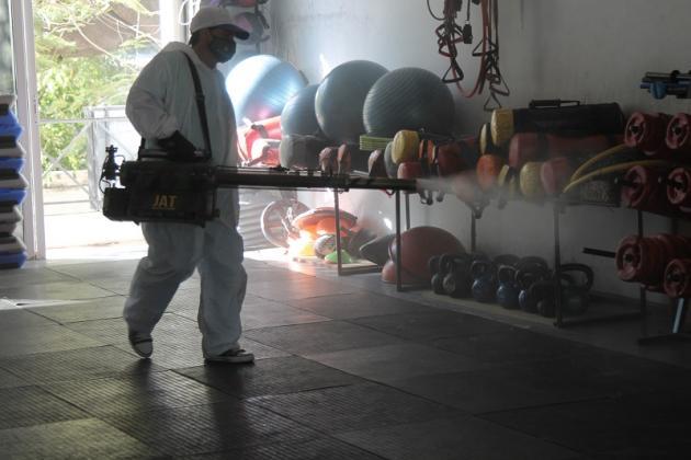 Resistencia: Implementan un programa de sanitización para gimnasios.