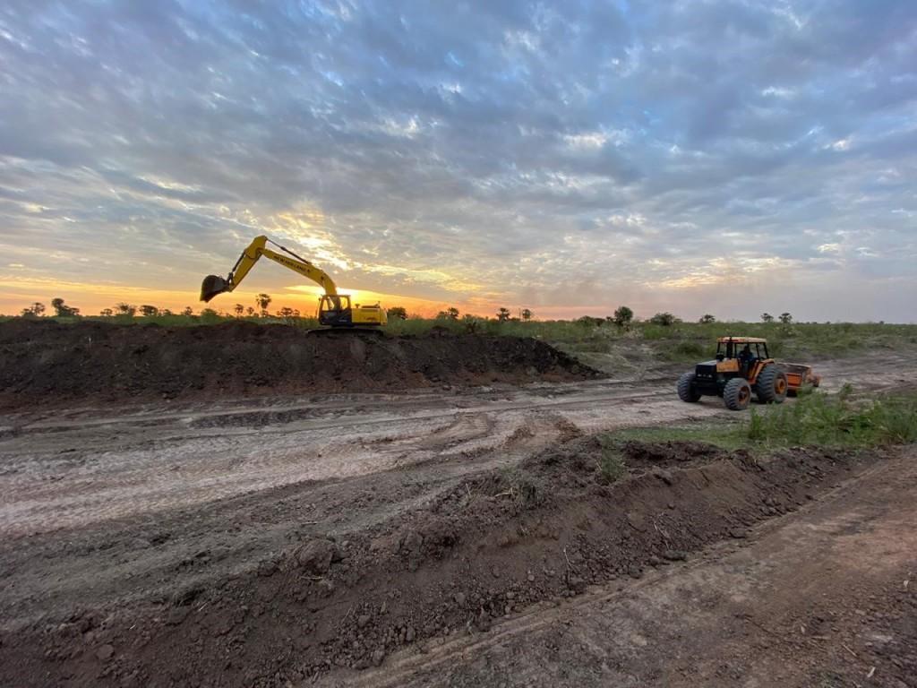 APA e Infraestructura avanzan con la limpieza del Canal Río Muerto - Las Colonias