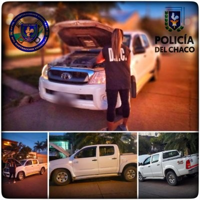 Secuestraron una camioneta buscada por causa judicial