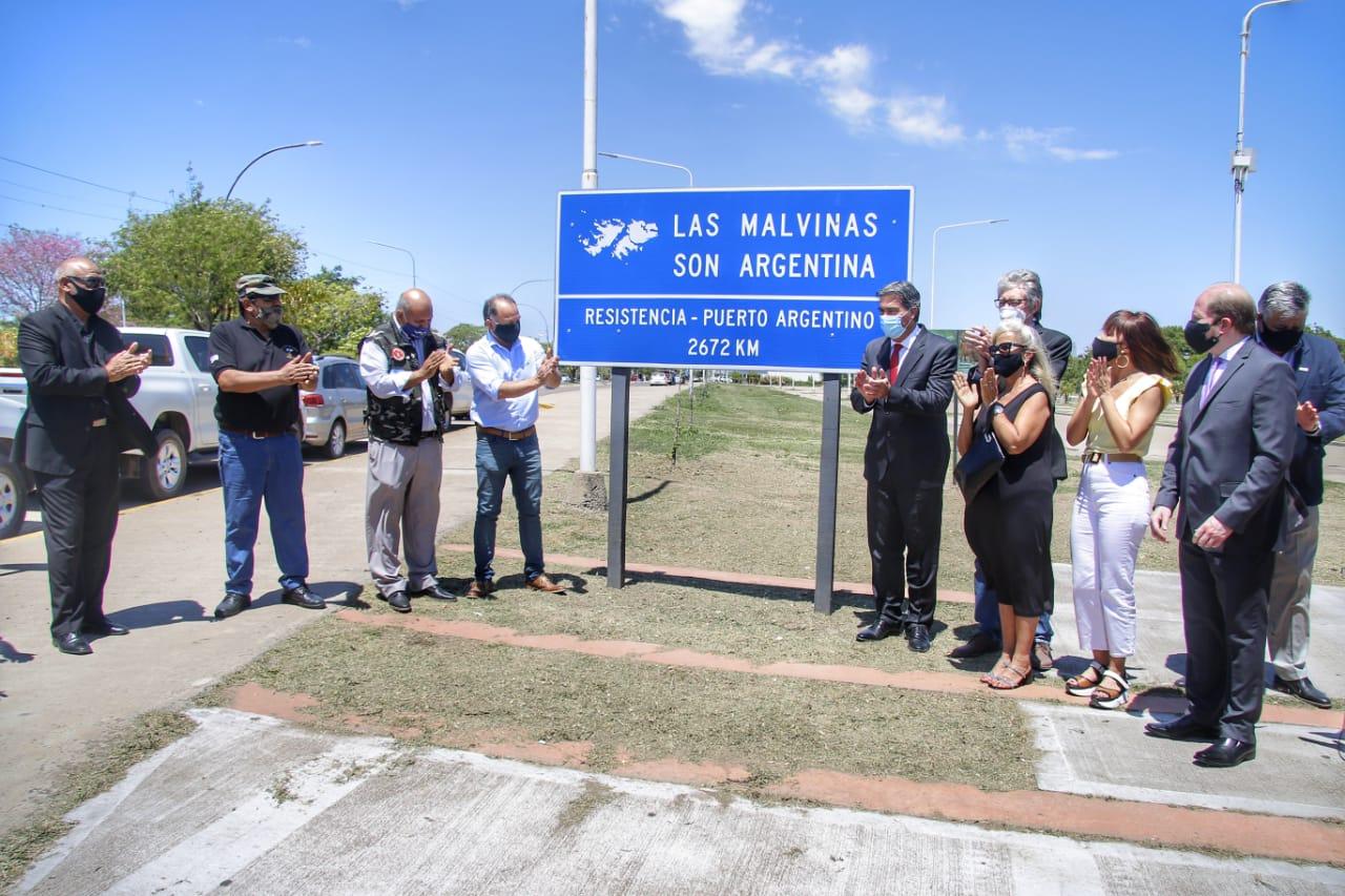 Chaco conmemoró los 200 años del primer izamiento de la Bandera Argentina en las Islas Malvinas.