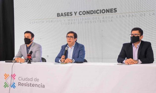"""El Municipio busca """"rediseñar"""" el centro de Resistencia y lanzó un concurso con premio de $600 mil."""