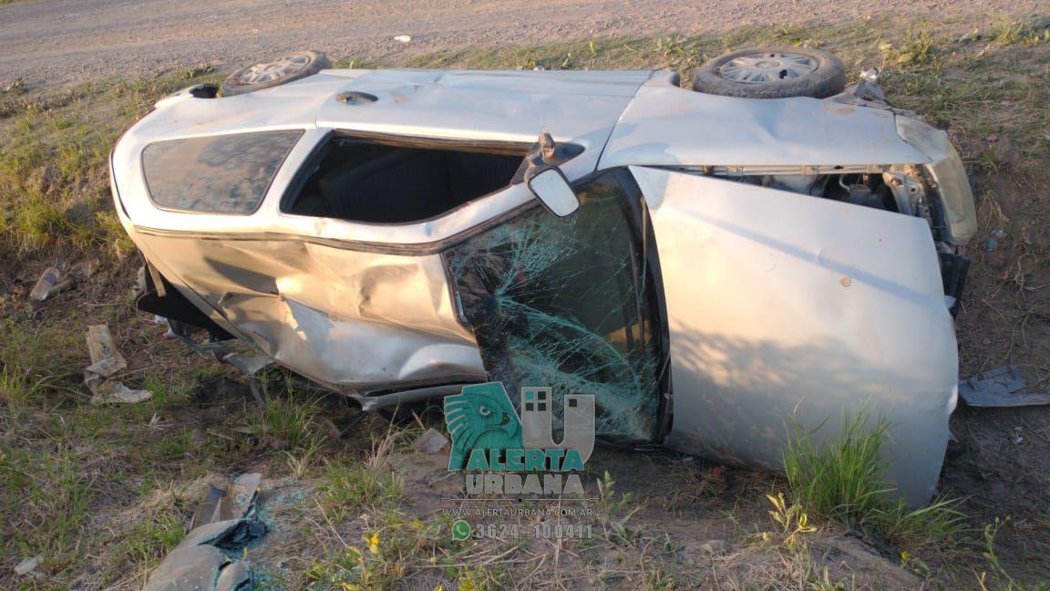Fontana: perdió el control del vehículo tras quedarse dormido