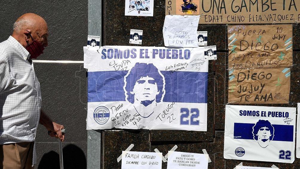 Diego permanece
