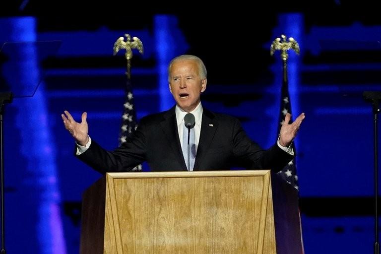 """Joe Biden: """"Para progresar, debemos dejar de tratar a nuestros oponentes como nuestros enemigos"""""""