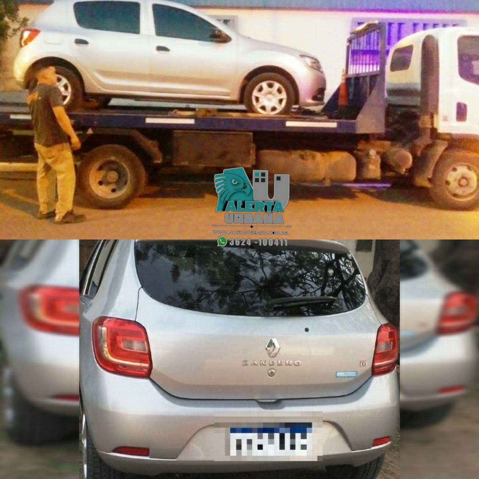 Resistencia: secuestran un auto utilizado para cometer un robo a un policía