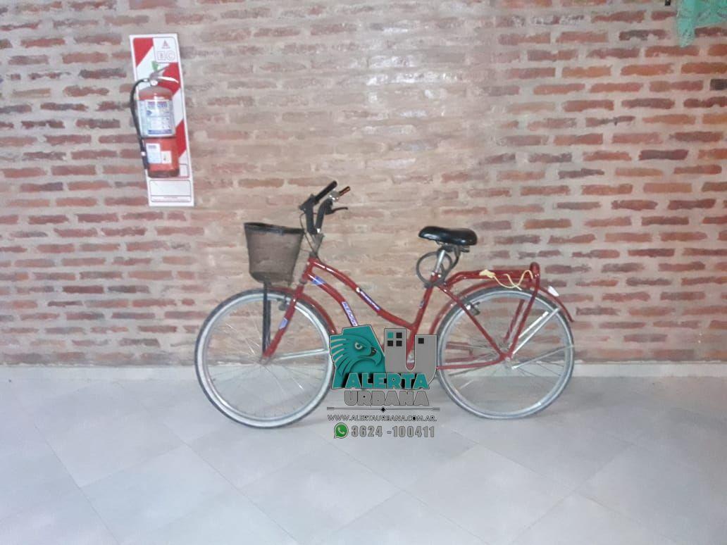 Colonia Benítez: intentó llevarse una bicicleta de una casa, la policía lo impidió