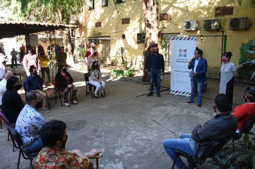 Gustavo Martínez reconoció la labor de trabajadores municipales con discapacidad