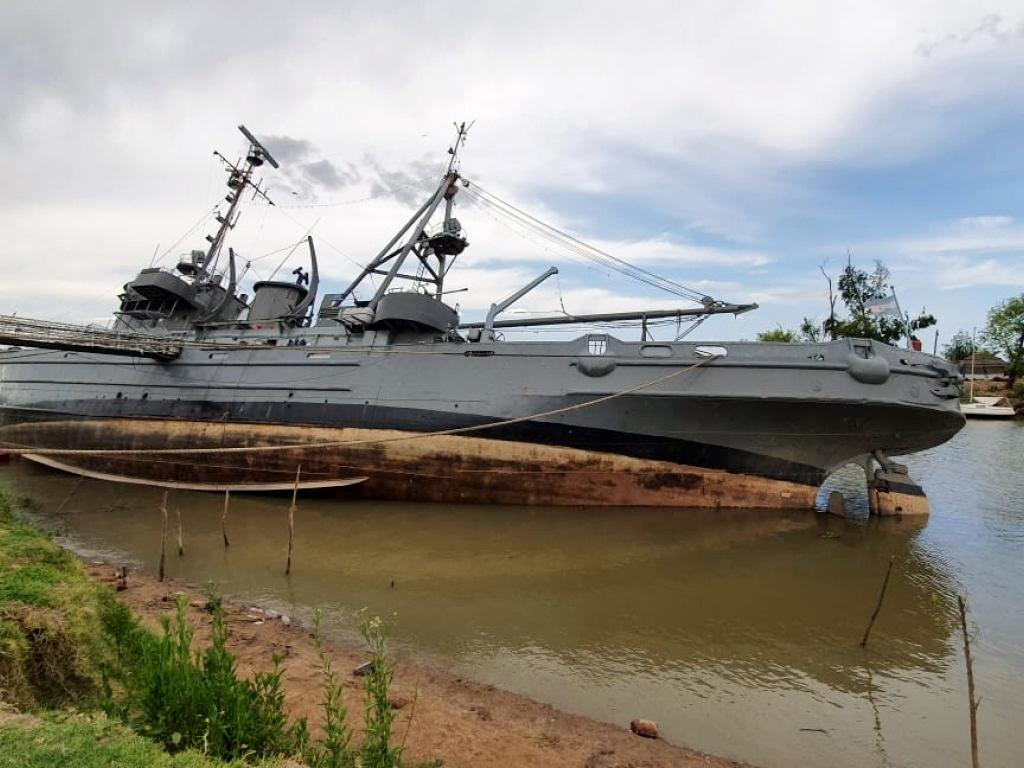 Se hunde en San Pedro el remolcador Irigoyen, que participó en la Guerra de Malvinas.