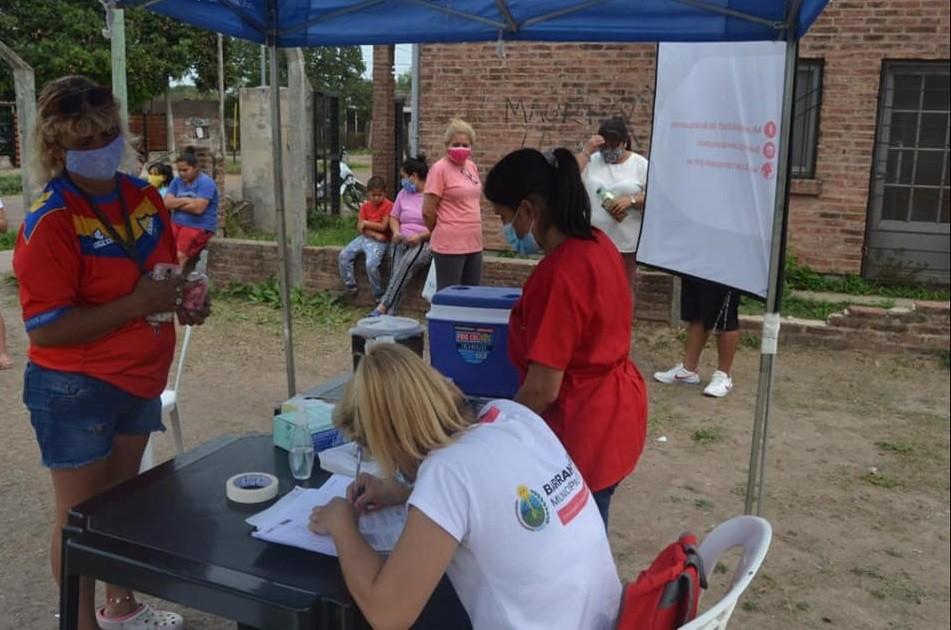 Barranqueras: Municipio lanzó campaña de vacunación gratuita