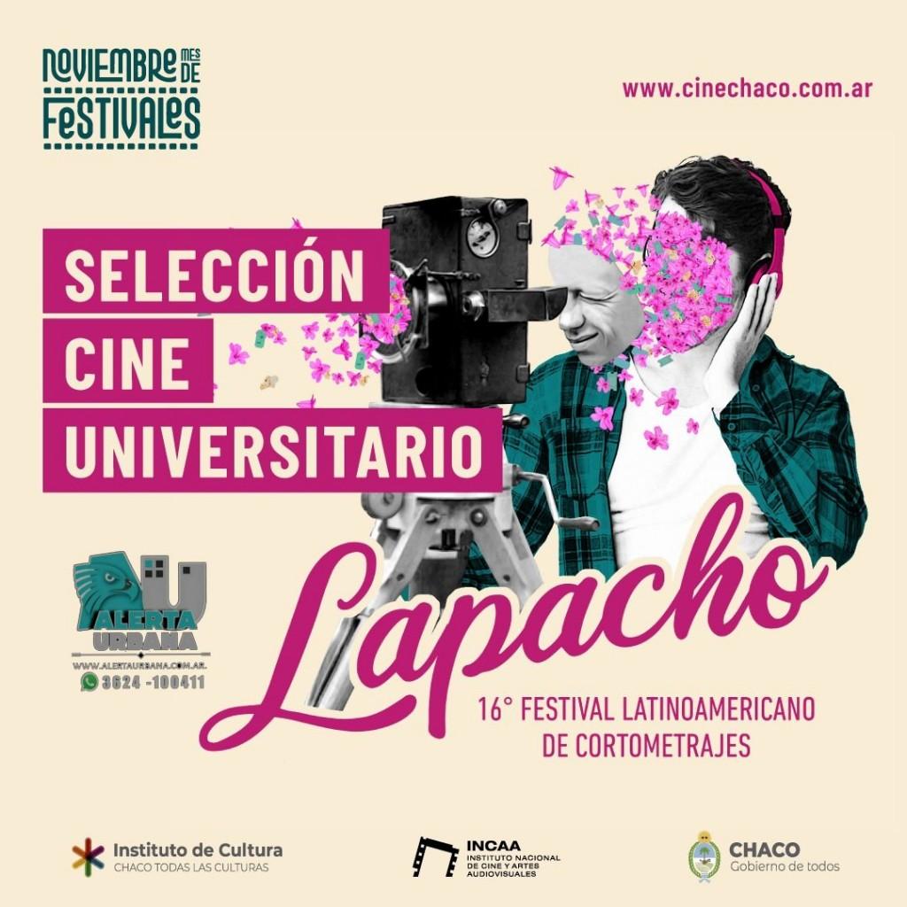 Comienza la 16º edición del Festival Latinoamericano de Cortometrajes Lapacho, y la 12º edición del Festival de Cine de los Pueblos Indígenas