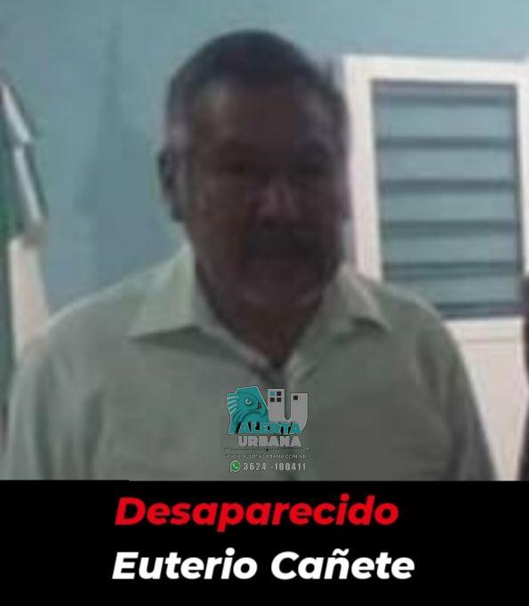 Resistencia: se busca el paradero de Euterio Cañete de 52 años