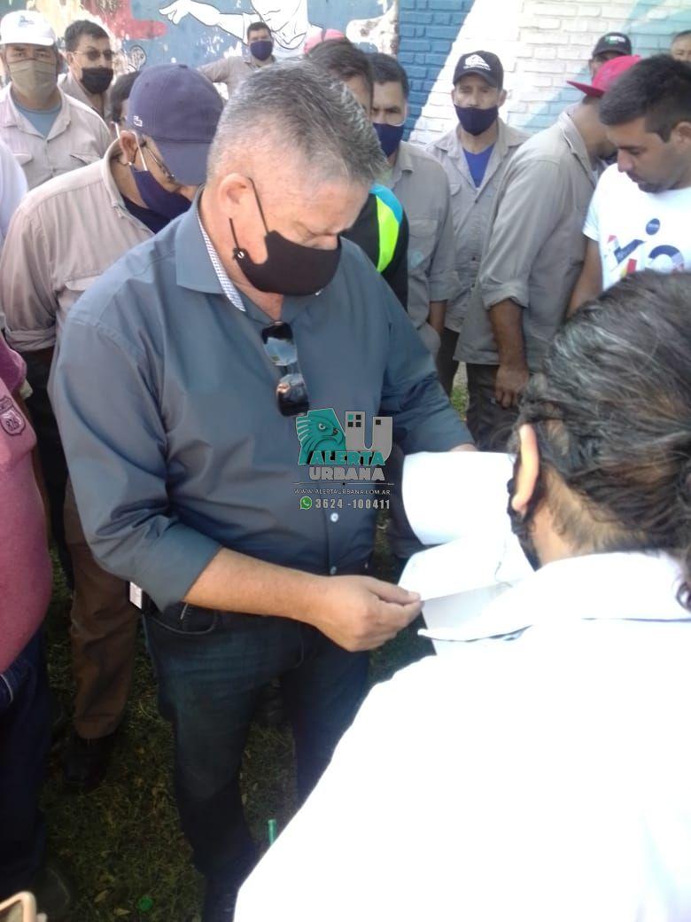 Resistencia: trabajadores de Sameep, reclaman pago de haberes