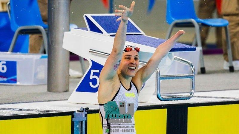 Daniela Giménez, la nadadora paralímpica chaqueña con la cabeza en Tokio