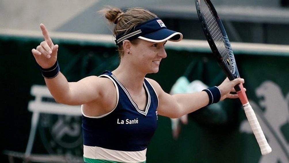 La rosarina Podoroska se metió en los cuartos de final del torneo de Linz