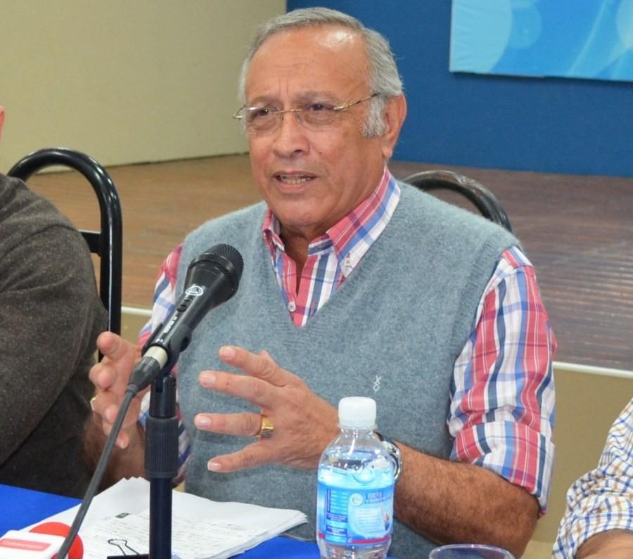 Jacinto Sampayo internado con Covid-19