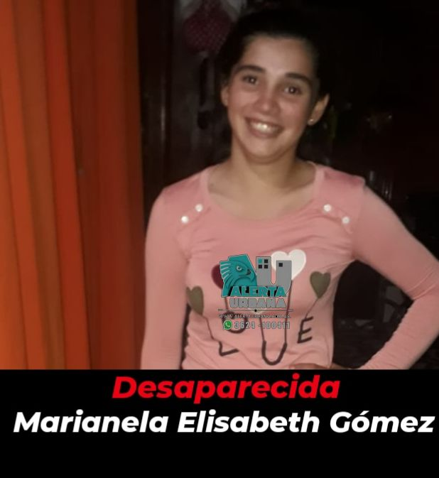 San Martín: se busca el paradero de la menor Marianela Elisabeth Gómez