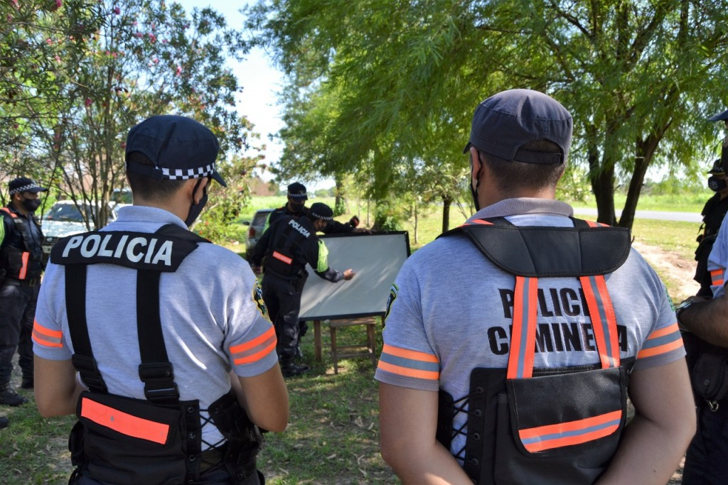 Capacitación teórico práctica para caminera de San Martín