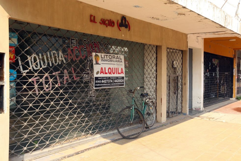 Sin reactivación: hay más de 160 locales comerciales vacíos en la zona céntrica