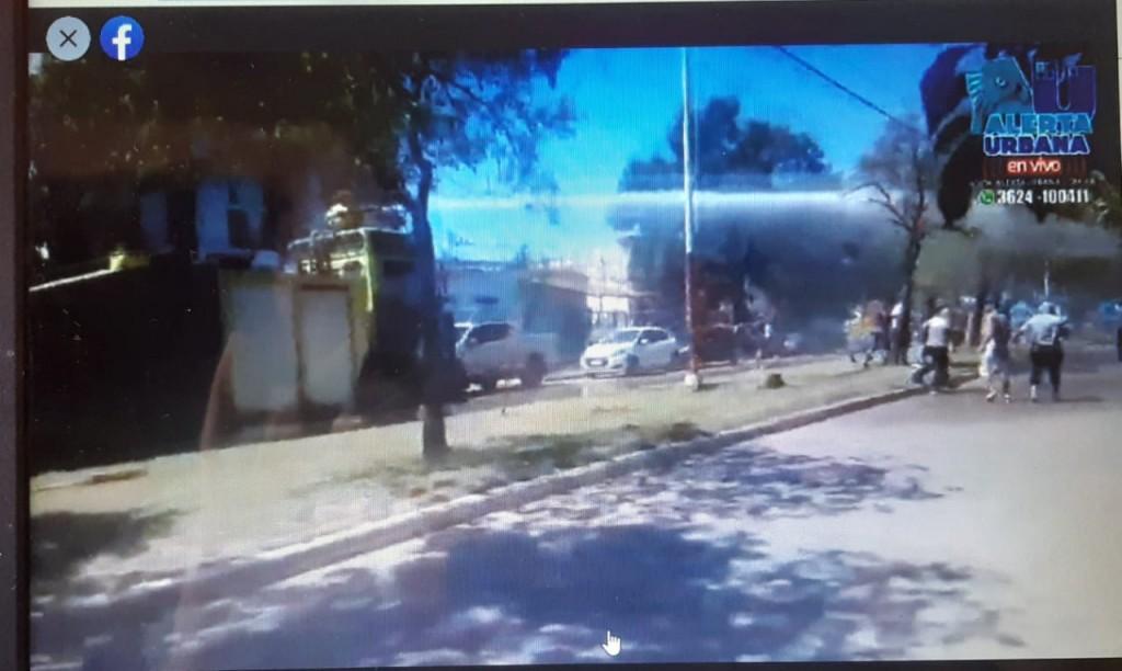 """Plaza España: """"lo que hizo la Policía del Chaco fue dar cumplimiento a la orden de la justicia"""""""