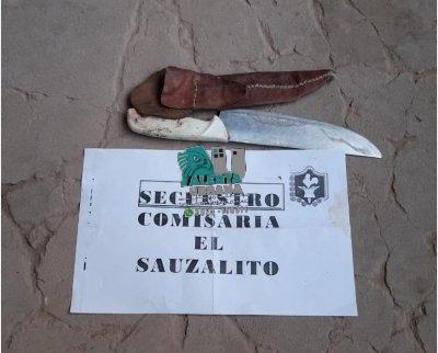 El Sauzalito: un efectivo policial lesionado y un detenido tras una persecución.