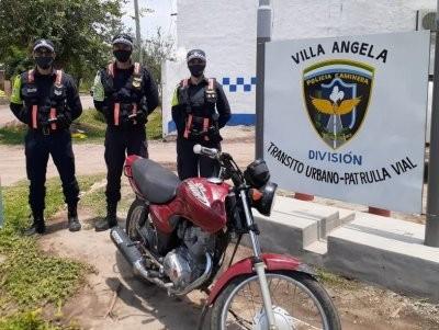 Policía Caminera sigue recuperando motocicletas e interviniendo cargas con anomalías