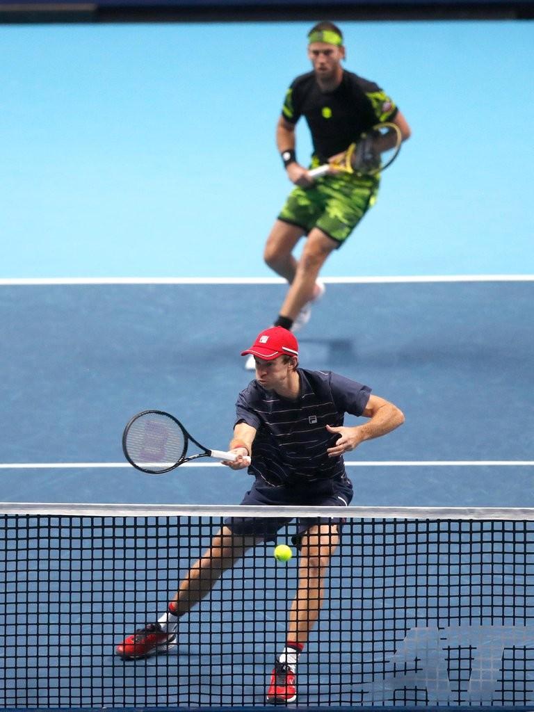 Horacio Zeballos se clasificó a las semifinales del ATP Finales en dobles