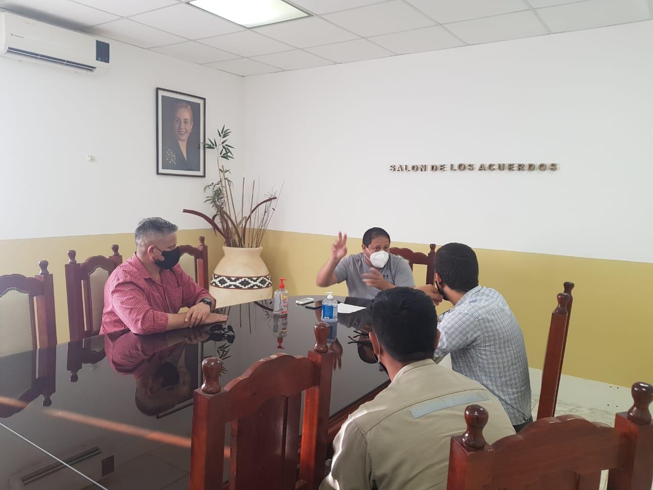 La intendencia de Pampa del Indio coordinó tareas de relevamiento y geolocalización que beneficiaran a vecinos del Pje. Campo Medina, Campo Nuevo y Lote N° 4.