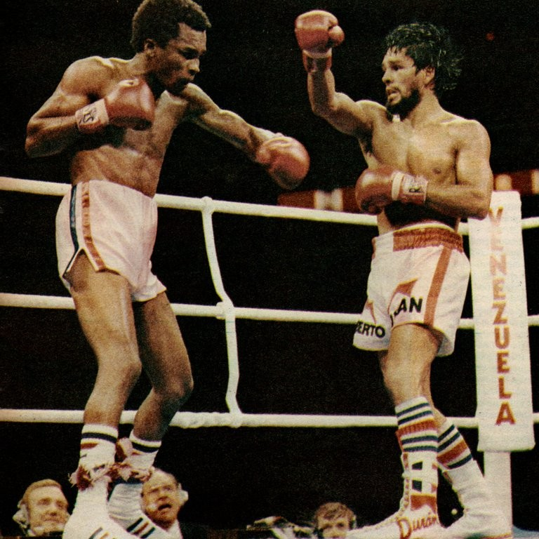 Sugar Ray Leonard vio a su mujer desmayada en la butaca, se desconcentró de la pelea y Mano de Piedra le quitó el invicto y la corona mundial