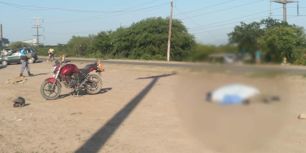 Barranqueras: Falleció tras perder el control de su motocicleta.