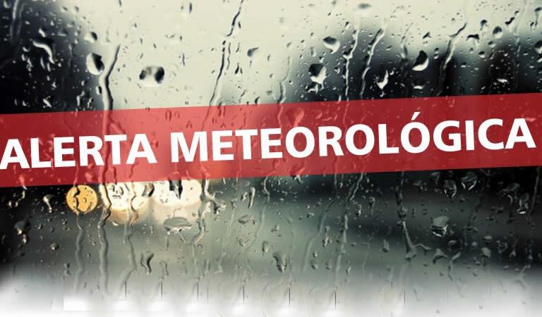 Renuevan el alerta por tormentas fuertes para la región.