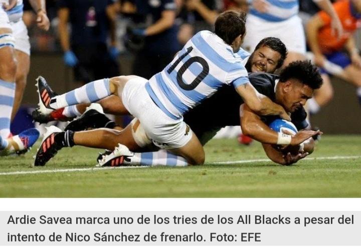 Australia: Nueva Zelanda se tomó revancha y aplastó a la Argentina.