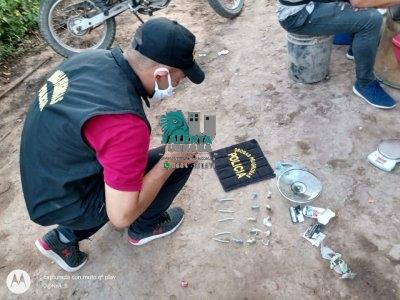 Las Breñas: aprehendieron a dos personas y secuestran droga y dinero.