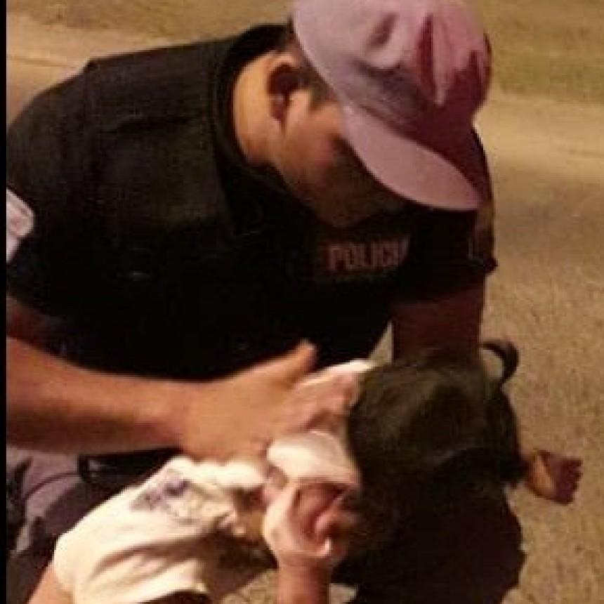 Dos agentes de la Policía del Chaco salvaron la vida de una beba con técnicas de RCP