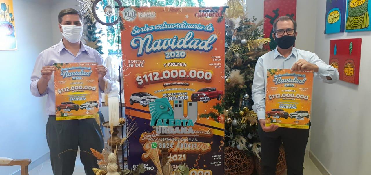 112 millones de pesos será el primer premio del Gordo de Navidad