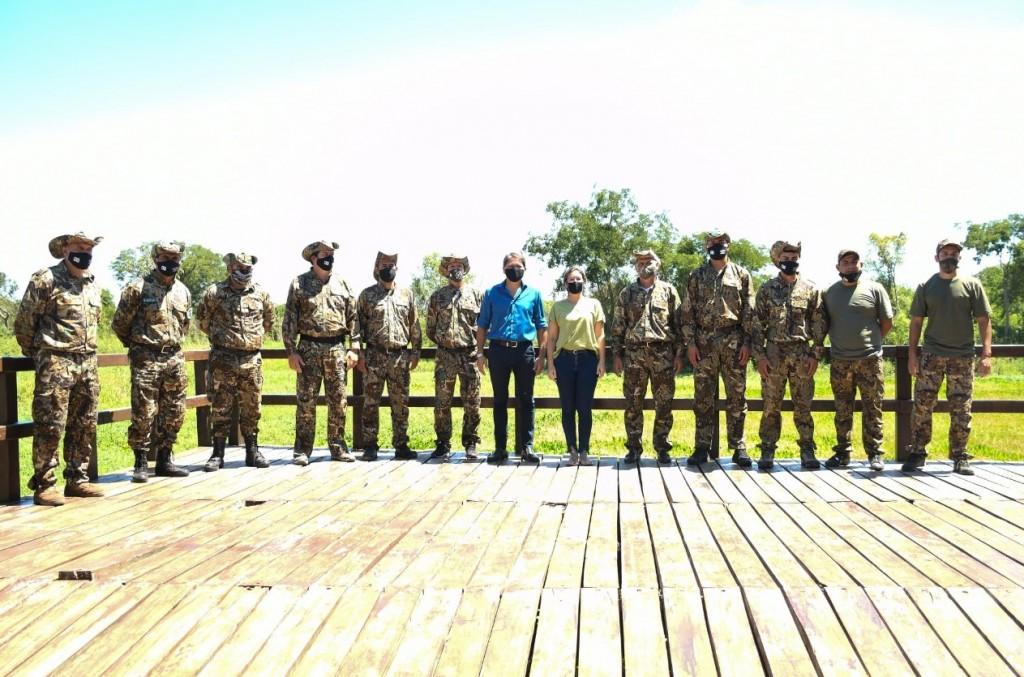Cuidado del ambiente: Desarrollo Territorial y Ambiente entregó equipamiento a la Brigada Operativa Ambiental