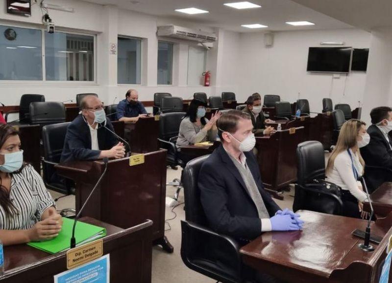 Un concejal de Resistencia asistió al concejo deliberante con Coronavirus