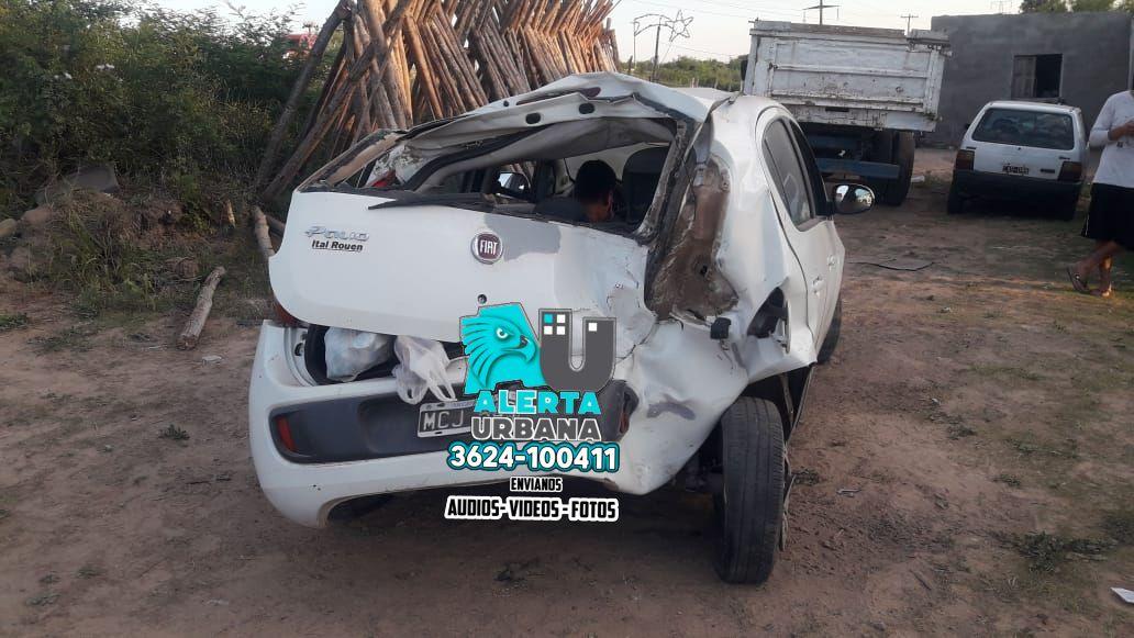 Barranqueras: accidente de tránsito